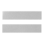 Светло-серый металлик ZP-8036 Кромка д/МДФ УФ (22х1)