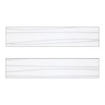 Белая волна (напыление) ХZ-31304 Кромка д/МДФ УФ (22х1,3)