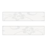 Белые цветы (напыление) ХZ-32804 Кромка д/МДФ УФ (22х1,3)
