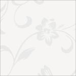 Белые цветы XZ-32804 МДФ глянец с напылением (2440х1200х18)