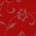 Красные цветы XZ-32801 МДФ глянец с напылением (2440х1200х18)