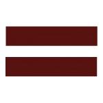 Бордовый N81B Кромка (22х2) Polkemic